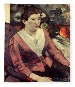 Gaugin: Marie Derrien, 1890 Fleece Blanket