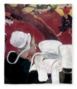 Gaugin: Vision, 1888 Fleece Blanket