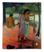 Gauguin: Call, 1902 Fleece Blanket