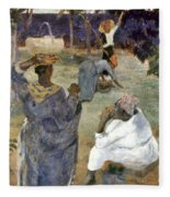Gauguin: Martinique, 1887 Fleece Blanket