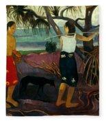 Gauguin: Pandanus, 1891 Fleece Blanket