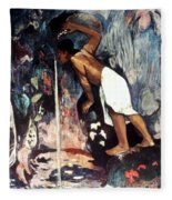 Gauguin: Pape Moe, 1892 Fleece Blanket