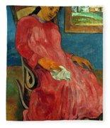 Gauguin: Reverie, 1891 Fleece Blanket