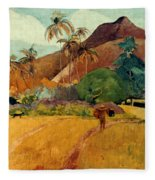 Gauguin: Tahiti, 1891 Fleece Blanket