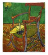 Gauguin's Chair Fleece Blanket