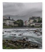 Gave De Pau Lourdes Fleece Blanket