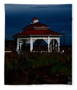 Gazebo  22 Fletcher Lake Fleece Blanket