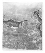 Gazelles Fleece Blanket