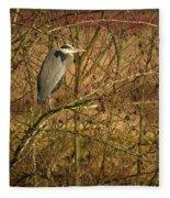 Gbh In A Tree Fleece Blanket
