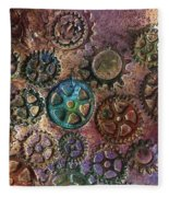 Gears 2 Fleece Blanket