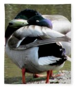 Geese Lovers Fleece Blanket