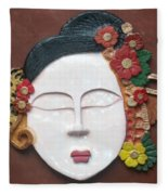 Geisha  Fleece Blanket