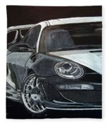 Gemballa Porsche Right Fleece Blanket