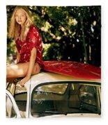 Gemma Ward Fleece Blanket