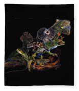 Gems And Jewels Fleece Blanket