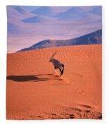 Gemsbok Fleece Blanket