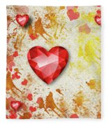 Gemstone - 7 Fleece Blanket