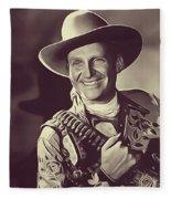 Gene Autry, Vintage Actor/singer Fleece Blanket