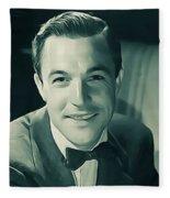 Gene Kelly, Vintage Actor/dancer Fleece Blanket