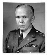 General George Marshall Fleece Blanket