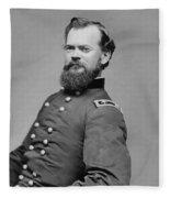 General James Mcpherson  Fleece Blanket