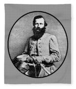 General Jeb Stuart Fleece Blanket