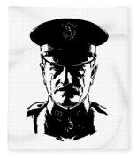 General John Pershing Fleece Blanket