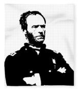 General Sherman Fleece Blanket