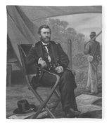 General U.s. Grant Fleece Blanket