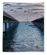 Generations Of Bridges Fleece Blanket