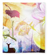 Genesis Collage Fleece Blanket