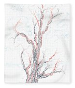 Genetic Branches Fleece Blanket