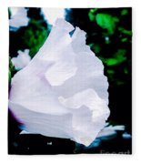 Gentle Floral Fleece Blanket