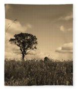 Gentle Landscape Fleece Blanket