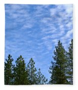 Gentle Sky Fleece Blanket