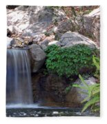 Gentle Waterfall Fleece Blanket