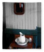 Gentleman's Washstand Fleece Blanket