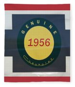Genuine 1956 Chevrolet Fleece Blanket