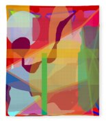 Geo Frenzy Fleece Blanket