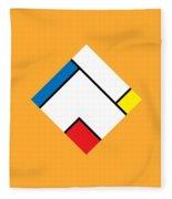 Geometric Art 307 Fleece Blanket