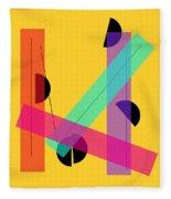 Geometric Art 419 Fleece Blanket