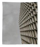 Geometry 1 Fleece Blanket
