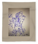 George Brett Pine Tar Fleece Blanket