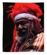 George Clinton Of Parliament Funkadelic Fleece Blanket