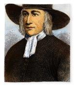 George Fox, 1624-1691 Fleece Blanket