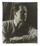 George Gershwin, American Composer Fleece Blanket