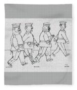 George Grosz 151 George Grosz Fleece Blanket