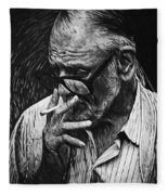 George Romero Fleece Blanket