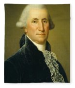 George Washington, 1795 Fleece Blanket