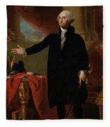 George Washington Lansdowne Portrait Fleece Blanket
